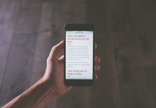 Top Tips for the Best Mobile Web Design